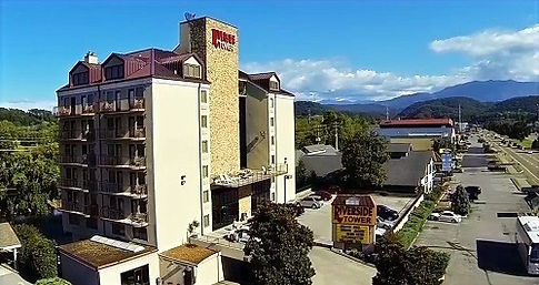 Riverside Towers, Pigeon Forge Rod Run Hotel exterior view