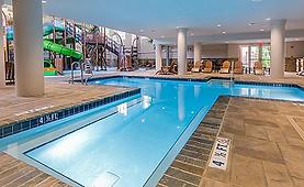 Holiday Inn Express pool Gatlinburg pool.PNG