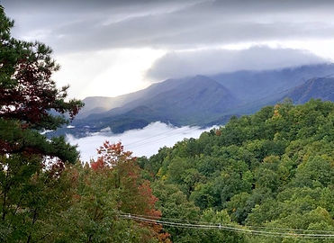 Awesome View Cabin, Bedroom mountain view, Gatlinburg cabin rental with views