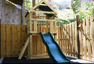 cabin with elevator in Pigeon Forge wih playground equipment