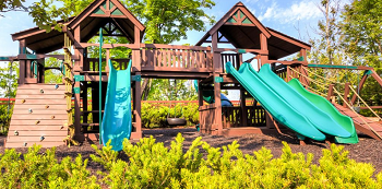 Riverstone Resort playground Pigeon Forge