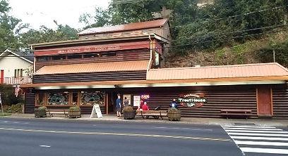 Smoky Mountain Trout House exterior Gatlinburg Tennessee