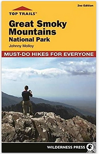 Trail Guide Map for Smoky Mountains