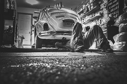 VW Beetle, Vintage Volkswagon Beelte, Car, mechanic