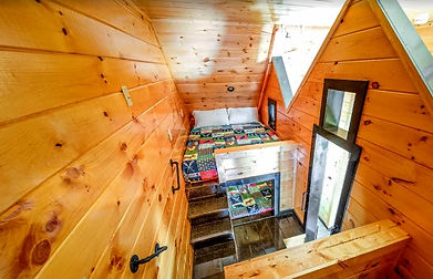 Big Willow Retreat, Large Cabin rental Gatlinburg TN, bunkbed view