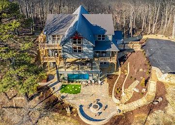 Greystone Retreat, Large Gatlinburg vacation rental for groups with handicap access, exterior view