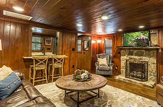 Roaring Ford Stream cabin interior shot