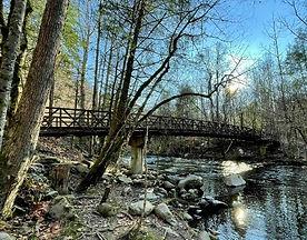 Gatlinburg Trail, TN, Great Smoky Mountains National Park, bridge