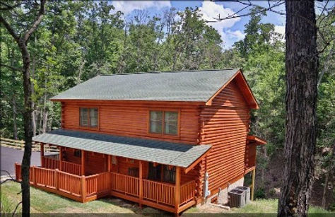 Deerfield Lodge Cabin, exterior, cabin with roll in shower