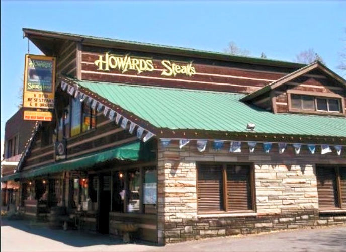 howards steakhouse Gatlinburg landmark