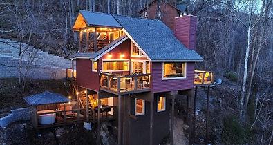 City Lights Cabin, Gatlinburg Honeymoon cabin
