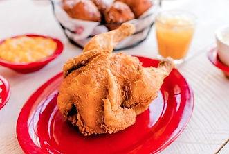 Applewood Farmhouse entree, fried cornish hen, Seveirville TN