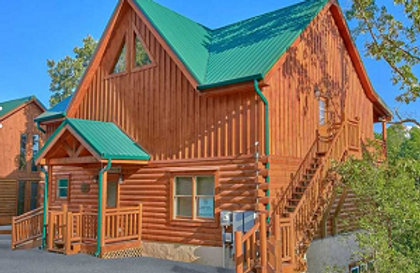 Cabin for rent in Smoky Mountains with Indoor pool