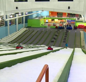 Pigeon Forge Snow Inside.PNG