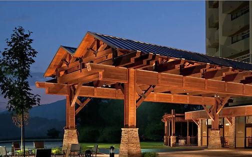 Park Vista Hotel entrance Gatlinburg TN Smoky Mountains view