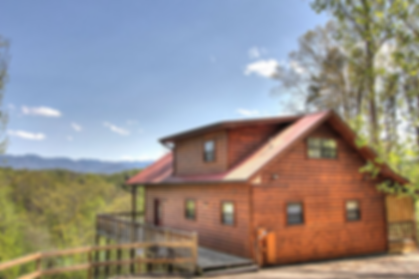 Smoky Mountain Cabin Rental, Cabin with view