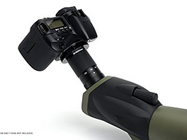digiscoping adapter for spottin scope, camera attached to spotting scope