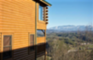 Cabin named Absolute Perfect Cabin shows off it's mountain views