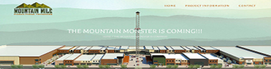 Mountain Mile Advertisement, areal view