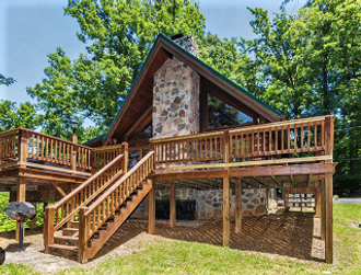 Beautiful Gatlinburg cabin Cloud 9