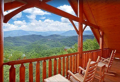 Heavenly Heights cabin with best views, Wears Valley and Gatlinburg, TN