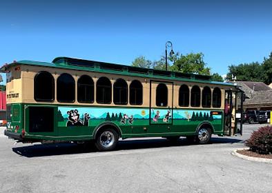 Trolley, tour bus