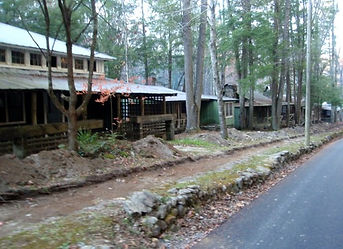 Elkmont Ghost town, Smoky Mountains, abandoned homes, resort