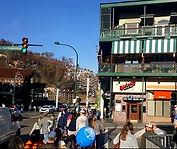 Downtown Gatlinburg shoppers on the strip