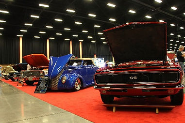 Indoor Car Show at The LeConte Center in Pigeon Forge, Tennessee