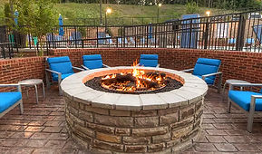outdoor cozy firepit Pigeon Forge