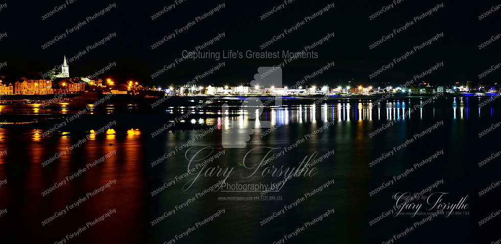 Newcastle County Down by Night - Ireland