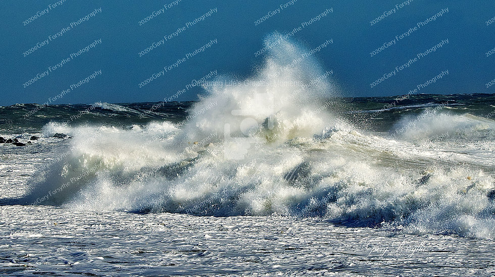 Wave Bomb Burst - Irish Sea - Ireland