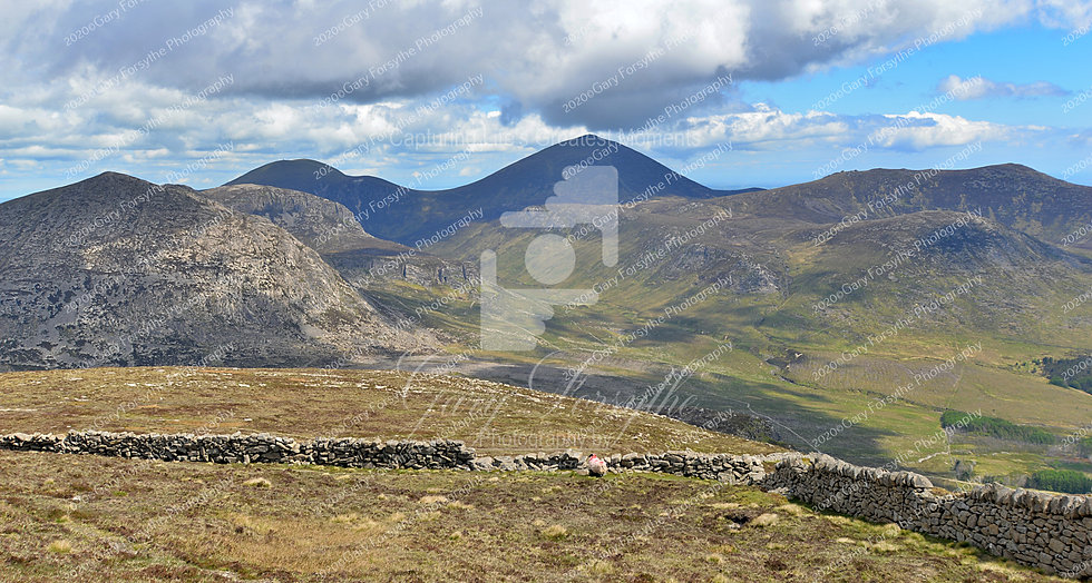 'Mournes' from 'Binnian' - Ireland
