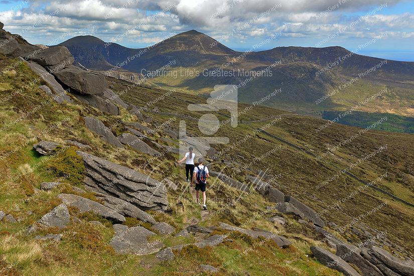 'Heading Down' - 'Mourne' Mountains - Ireland