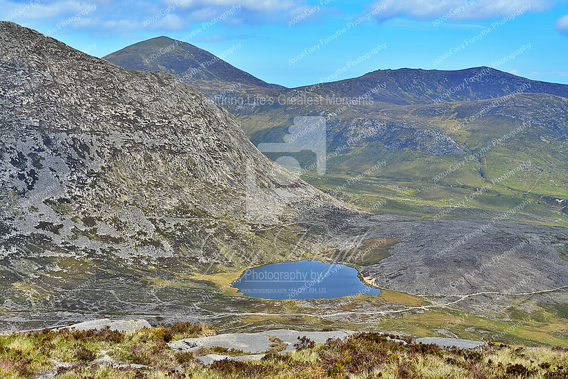 The 'Blue' Lake/Lough - Mountains of 'Mourne' - Ireland