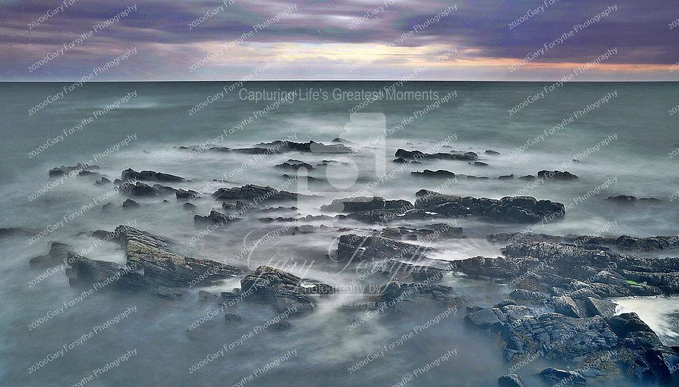Irish Sea Rocks n Swirls - Ireland