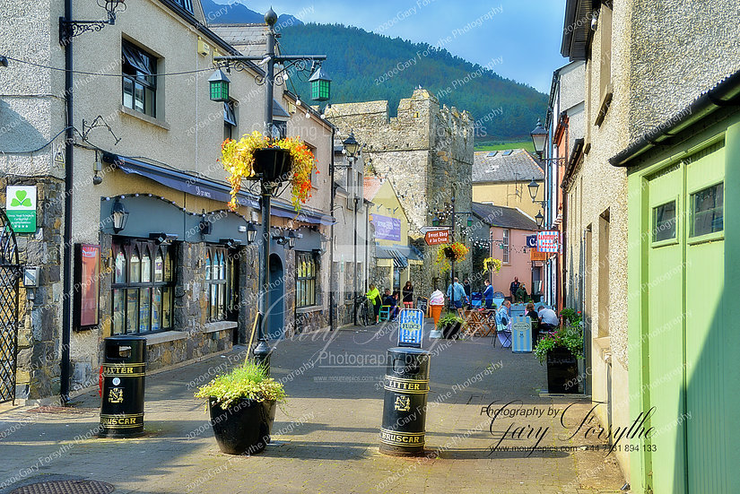 Main Street Carlingford - Ireland