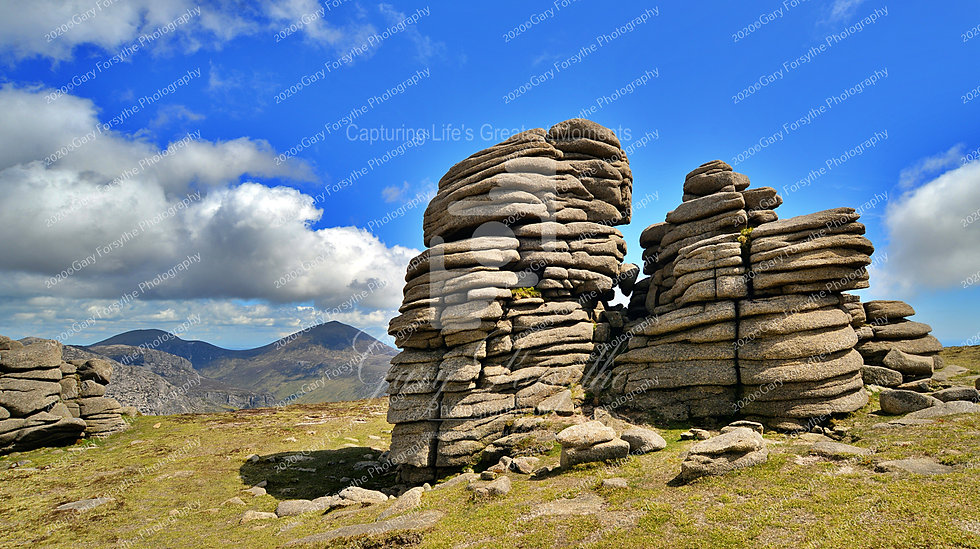 'Castles' in the Air - 'Slieve Binnian' - Ireland