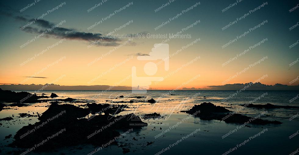 Dawn over the Irish Sea. Killough Co Down - Ireland