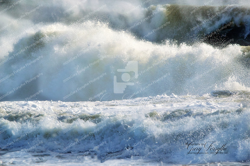 Storm 'Aiden' Saint Johns Point Irish Sea - Ireland