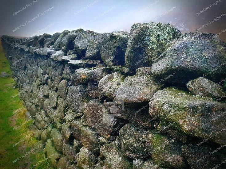 Drystone Wall - Mourne Mountains - Ireland