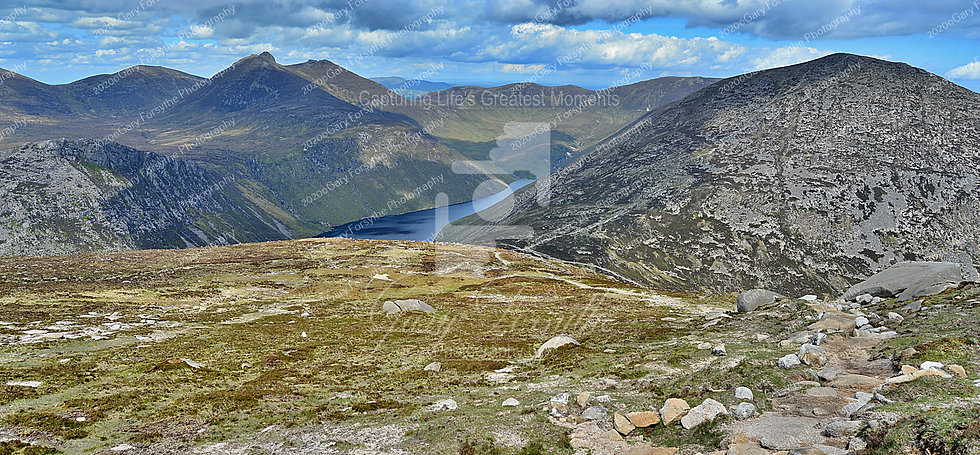 'On the way Down' - 'Mourne' Mountains - Ireland