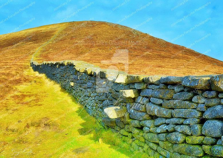 'Slieve Donard','Mourne' Wall - Ireland