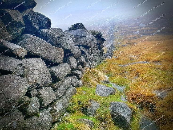 Mourne Drystone Wall - Ireland