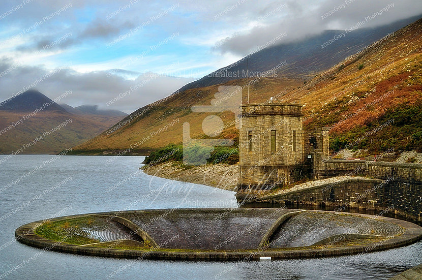 'Silent Valley' Overflow, 'Mourne' Mountains  - Ireland