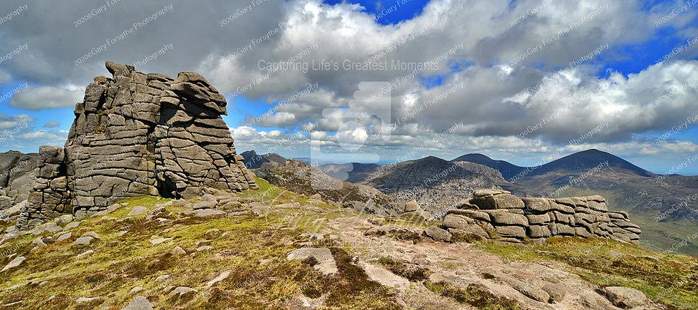 North Torr - 'Binnian Castles' - Mountains of 'Mourne' - Ireland