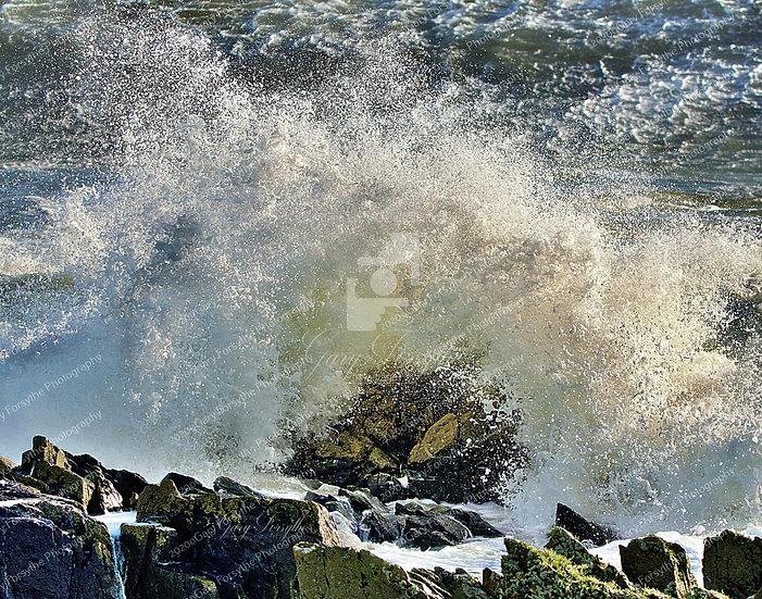 Wave Bomb - Irish Sea Storm Aiden 31 10 2020 - Ireland