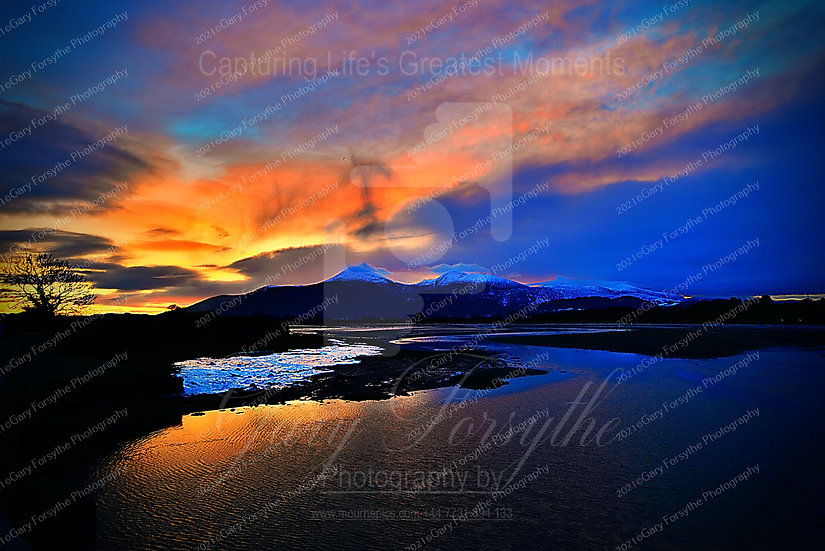 Images in the Sky - Mountains of Mourne Ireland