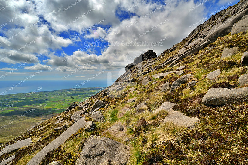 Couple on the High Ridge - Mourne Mountains - Ireland