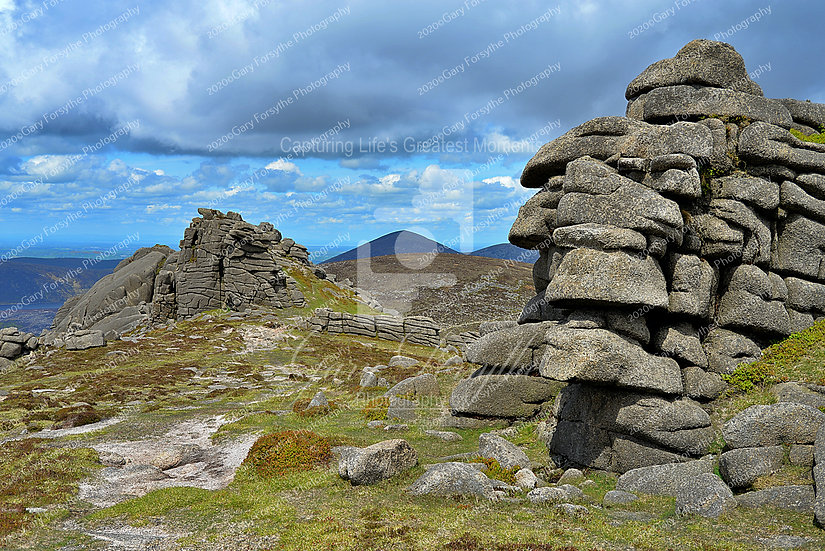 'Stacks' - Mountains of 'Mourne' - Ireland